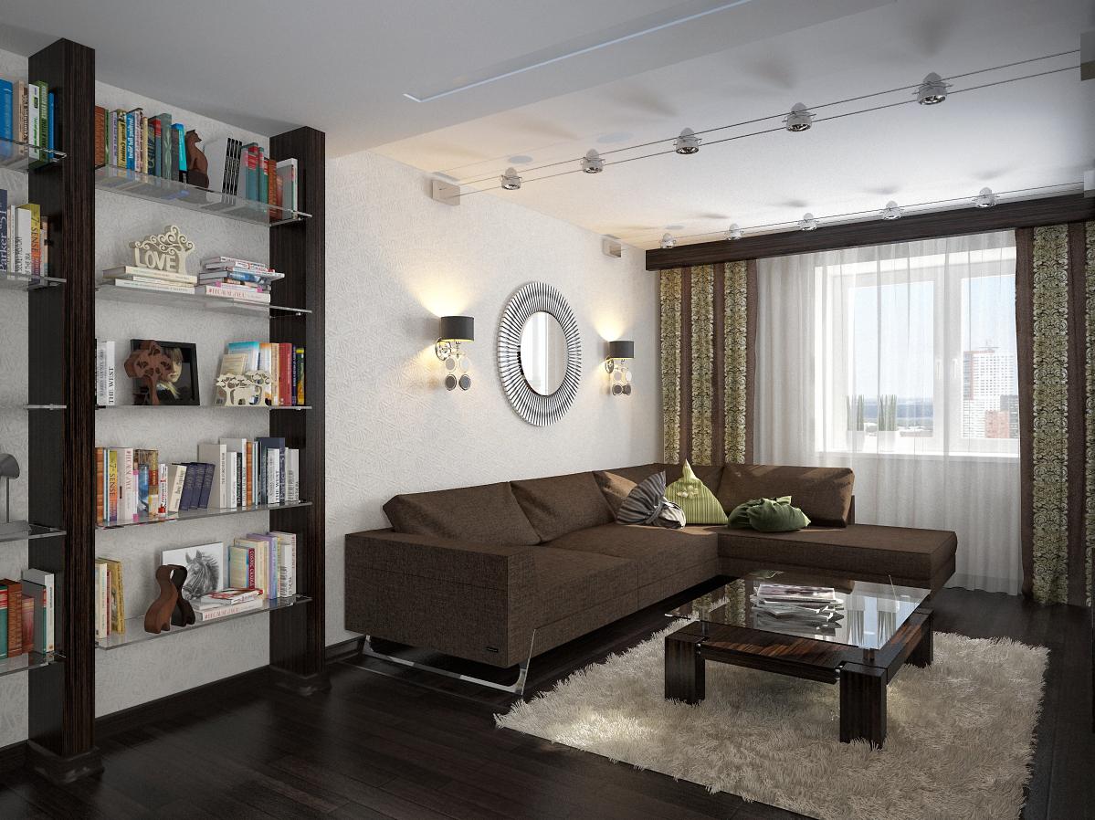 Дизайн квартиры девушки