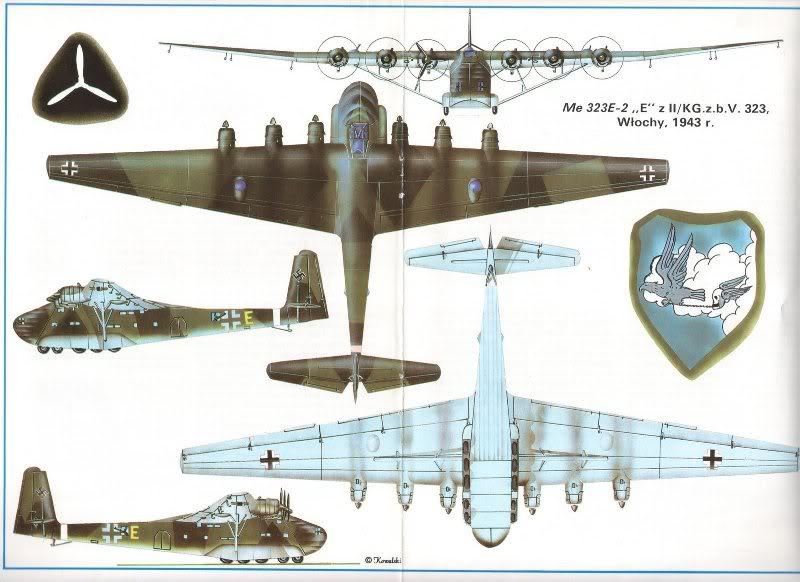 Messerschmitt me 323 gigant (giant