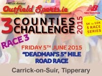 5m race in Carrick-on-Suir...Fri 5th June