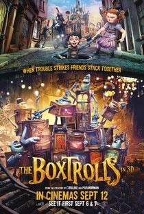 Baixar Filme Os Boxtrolls BDRip AVI + RMVB Dublado