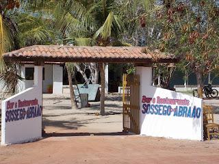 BAR E RESTAURANTE ASSOSSEGO DO ABRAÃO EM SÃO BENTO DO NORTE/RN (84) 9176-2291