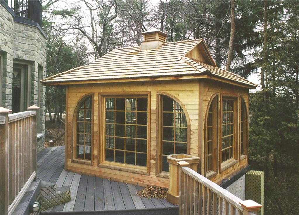 Small prefab homes prefab cabins sheds studios cedar for Small cedar homes
