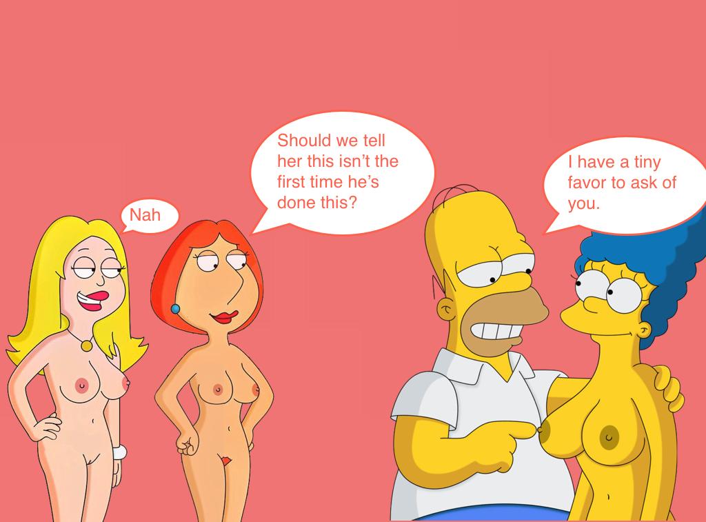 Порно симпсоны и гриффины
