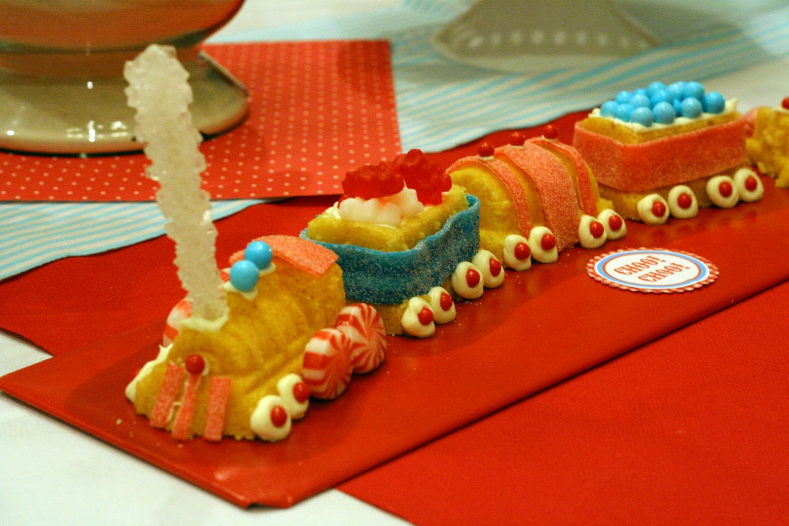 William sonoma train cake recipe