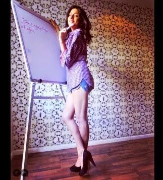 Hot Stills of Sapna Pabbi for GQ Magazine India March 2015