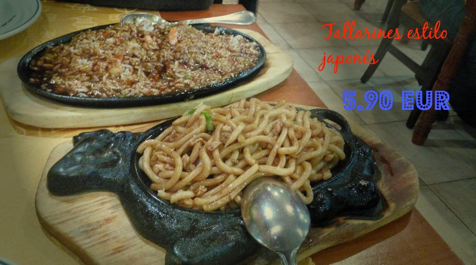 Comer bien por poco dinero en madrid restaurante tokio getafe - Restaurante tokio madrid ...