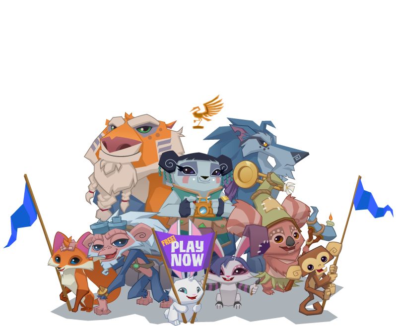 Click to make an Animal Jam account!