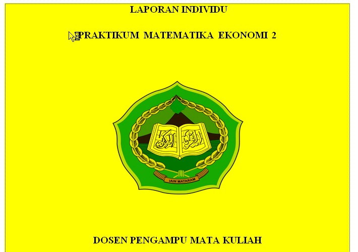 Cover Makalah IAIN Terbaru 2015