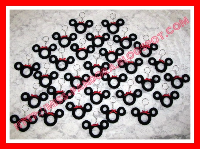 Llaveritos Minnie Mickey