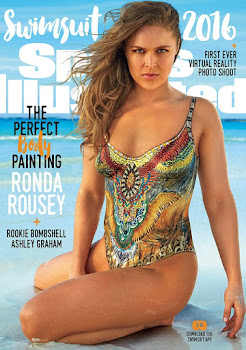 Sports Illustrated Has Three Swimsuit Covers, Including Muscle Gal Ronda Rousey