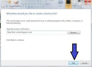 OM Kris - 3 Cara buat shortcut link web dengan mudah & Cepat1