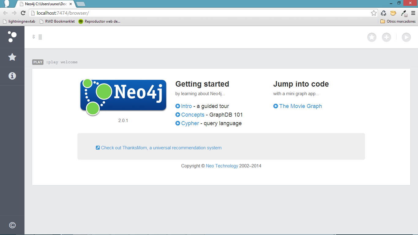 Neo4j Browser