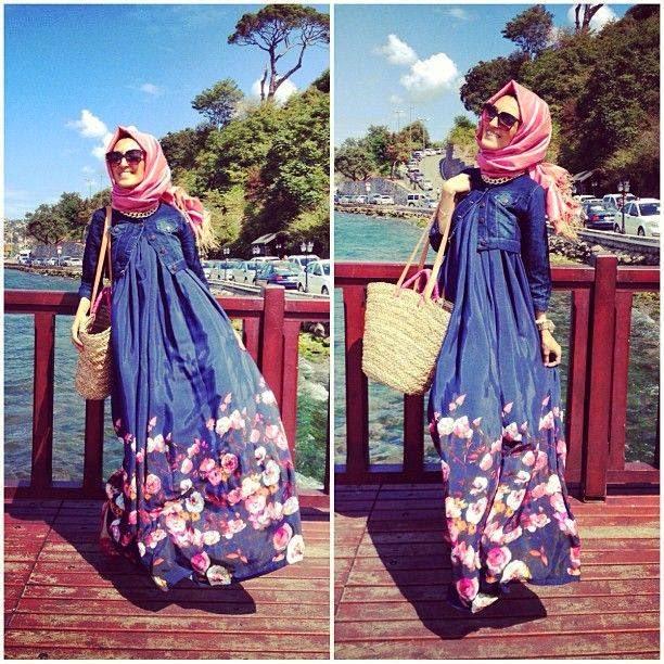 Hijab Vintage How To Wear A Jean Jacket