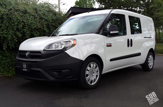review 2015 ram promaster city cargo subcompact culture the small car blog. Black Bedroom Furniture Sets. Home Design Ideas