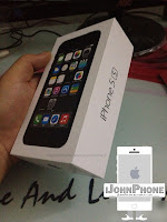 Vistaso de la Caja del iPhone 5S por anticipado