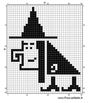 pour enfants 2017 diagramme de point de croix halloween gratuit imprimer. Black Bedroom Furniture Sets. Home Design Ideas