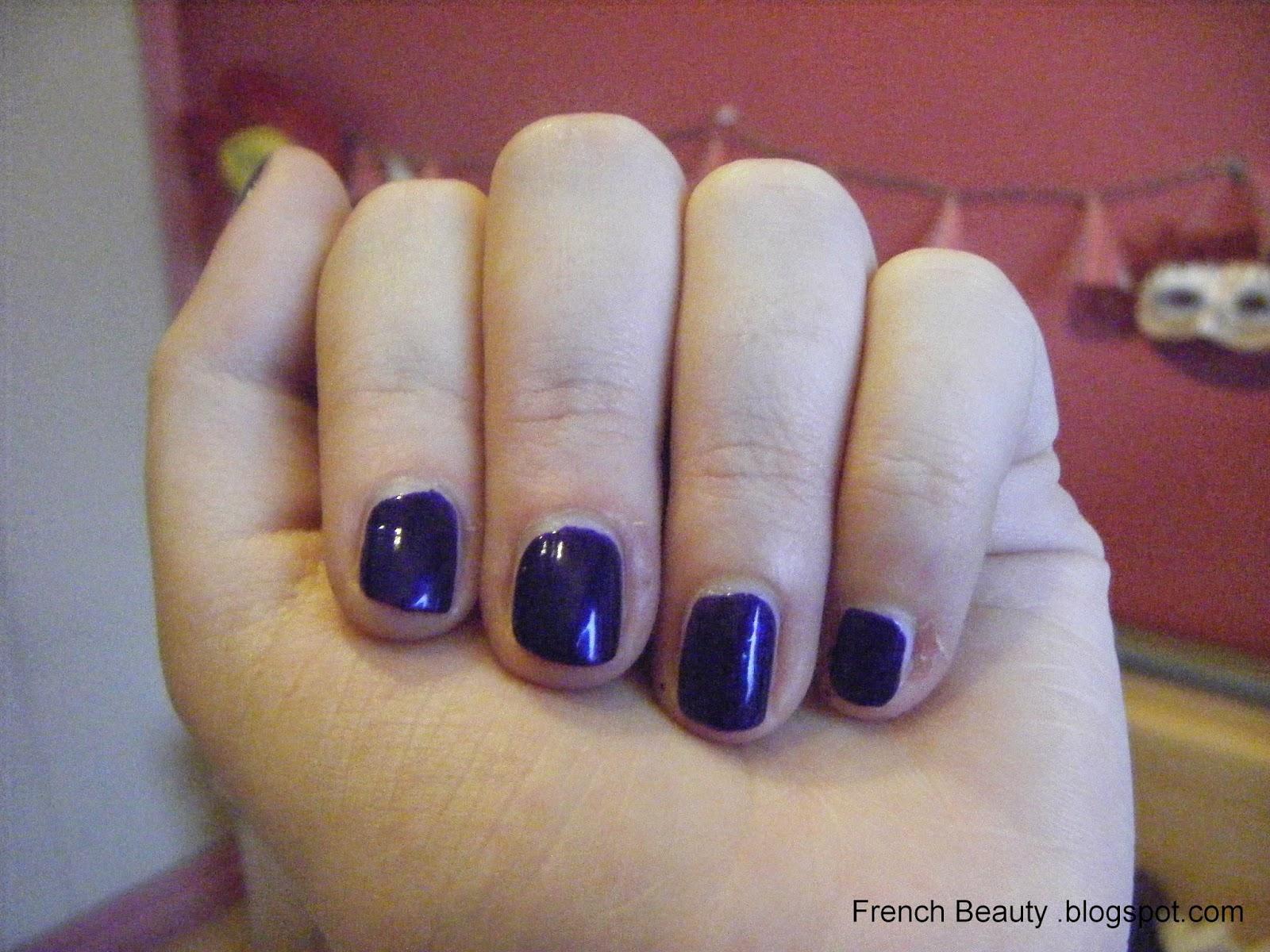 vernis violet ivresse marionnaud