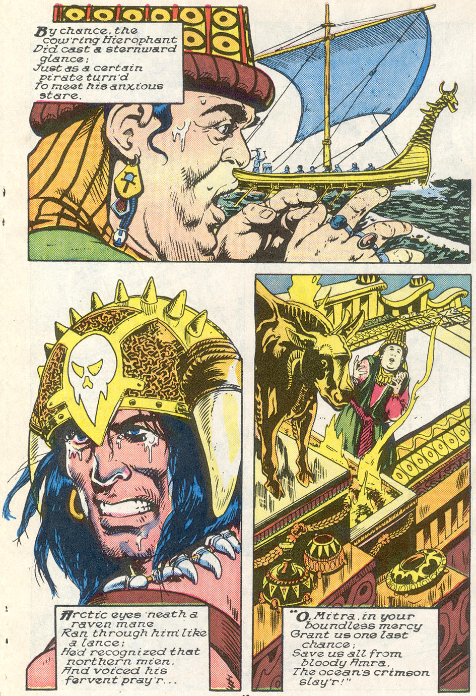 Conan the Barbarian (1970) Issue #221 #233 - English 9