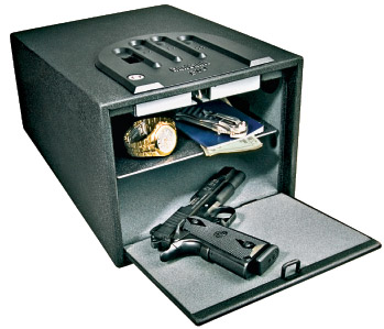 Hand gun safes