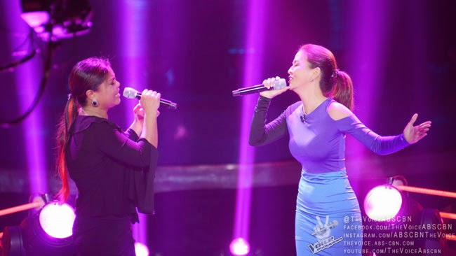 Team Apl's Arnee Hidalgo vs Jannet Cadayona sing 'Kung Ako'y Iiwan Mo' on December 14 Battle Round