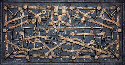Old lock mechanism - photo by Ben Heine