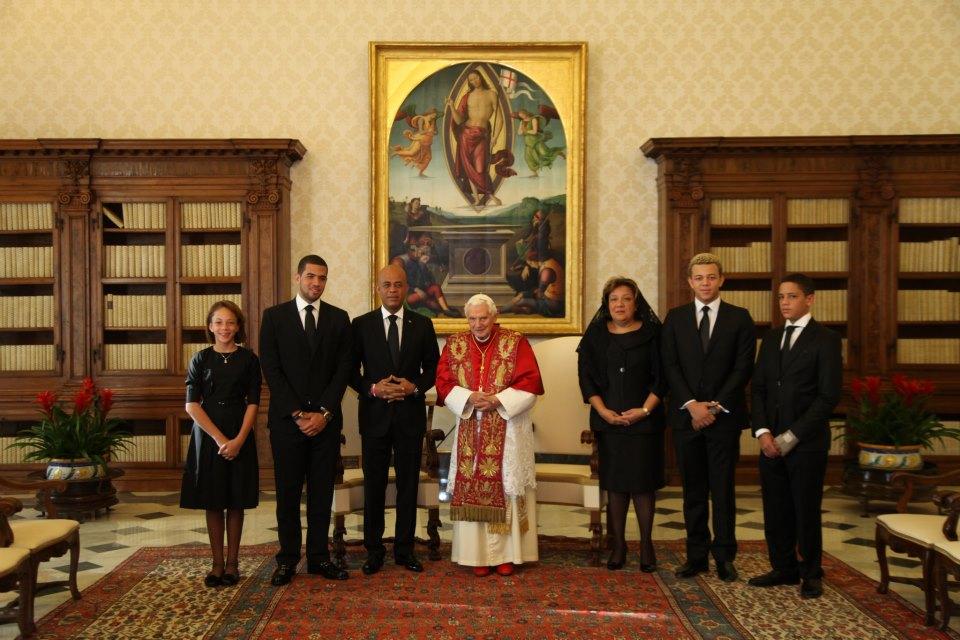 rencontre benoit xvi et pape