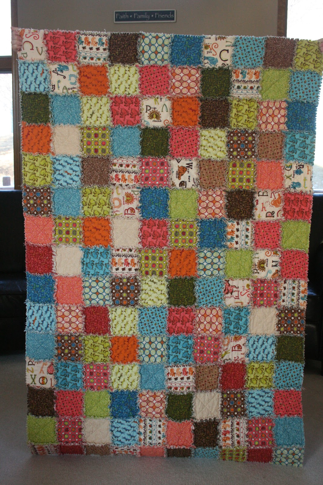 crazy mom quilts: crazy mom quilts: one way to make a ragtime quilt
