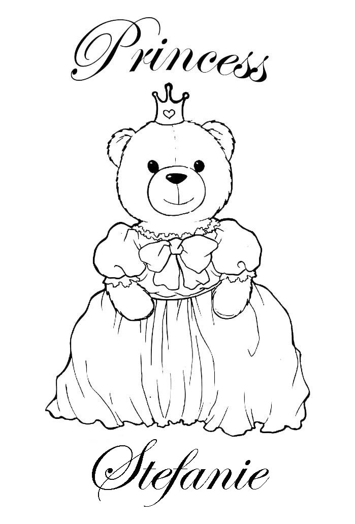 FREE PERSONALISED COLORING PAGES | Coloring Pages For Kids