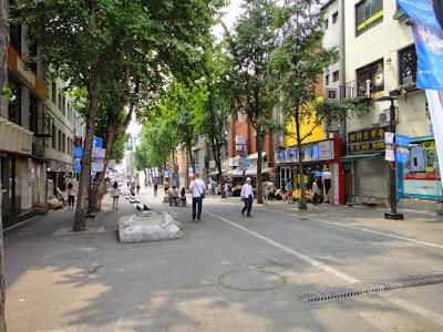 Insadong Main Street Seoul South Korea