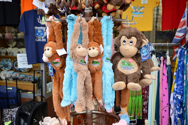 Gibraltar małpy maskotki