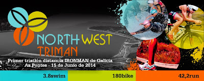 Northwest Triman IronMan As Pontes 2014
