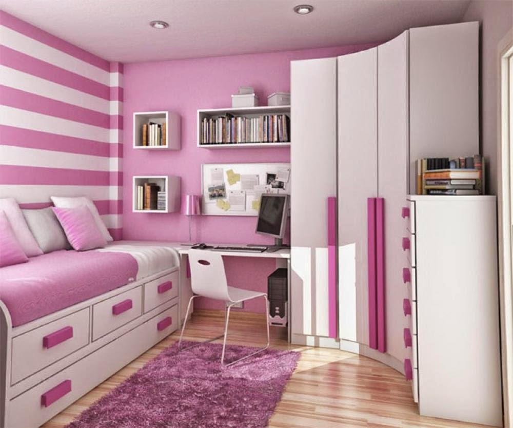 Desain kamar tidur anak perempuan 8