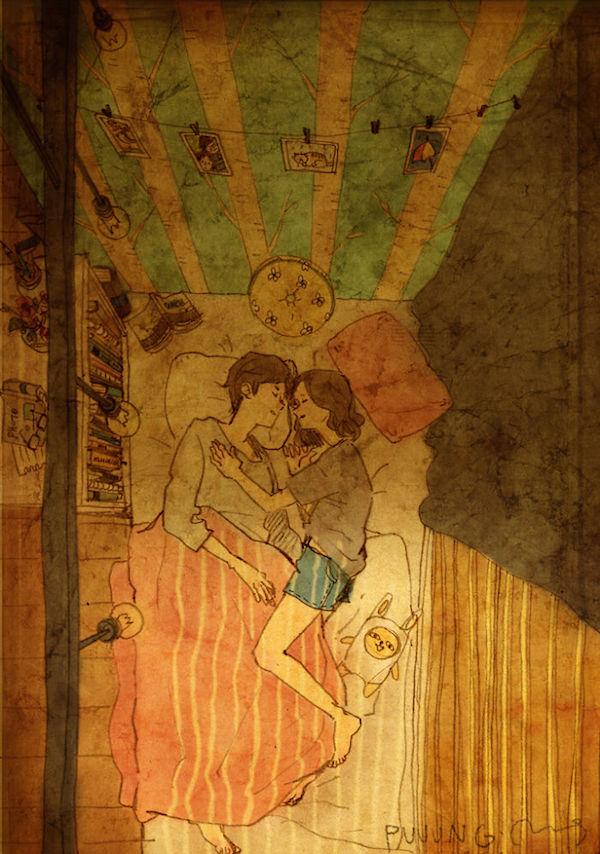 amor dormir juntos