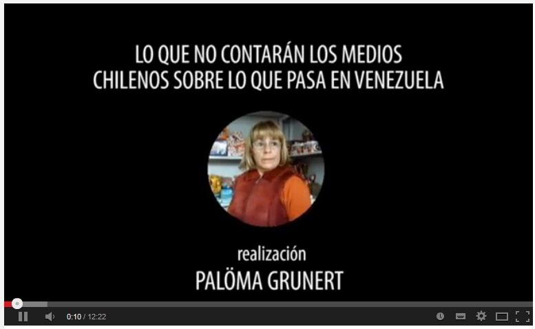 Lo que los medios chilenos no muestran de Venezuela