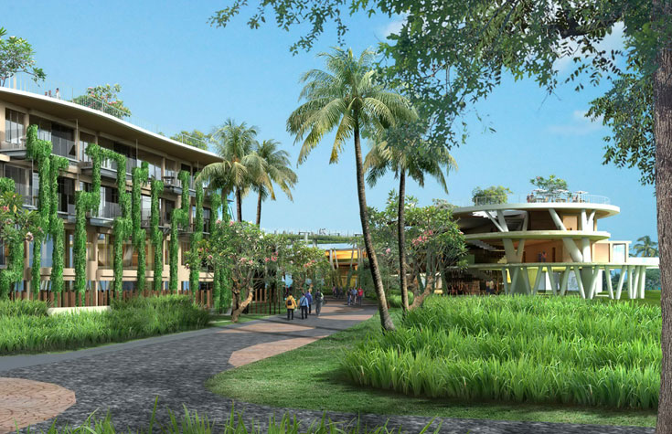 eaton luxe condotel nirwana bali resorts. Black Bedroom Furniture Sets. Home Design Ideas