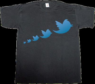 twitter social network anniversary internet 2.0 t-shirt ephemeral-t-shirts