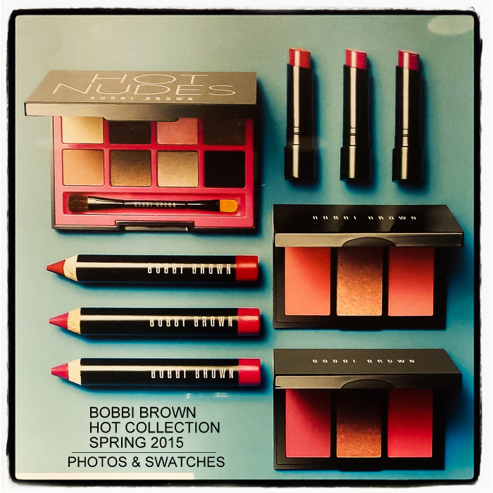 Bobbi Brown Kate Upton Hot Spring 2015 Makeup Collection Photos Swatches