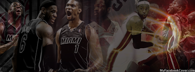 Miami Heat NBA Basketball Facebook Timeline Profile Covers