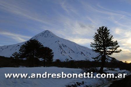Volcán Lanín - Junín de los Andes - Lanin Volcano - Patagonia - Andrés Bonetti