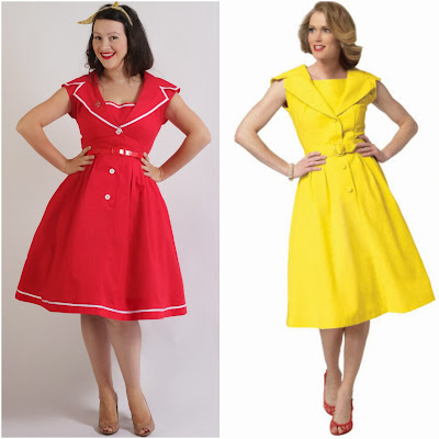 Julia Bobbin - 1960's dress with Butterick 5747