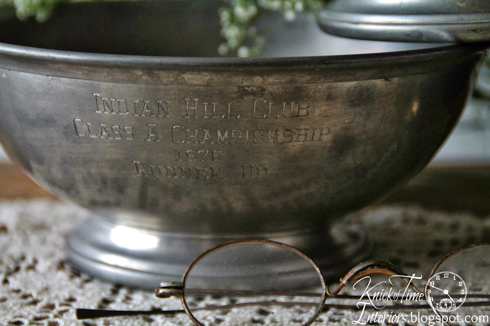 Pewter Trophy Bowls available from Knick of Time