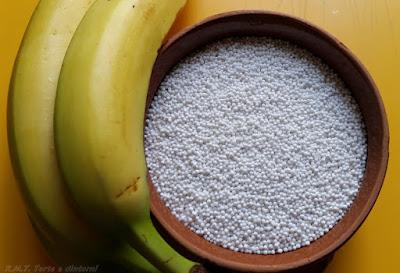 Saksak: gnocchi di tapioca e banana