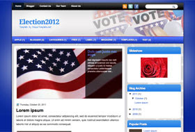 Election2012 Blogger Template