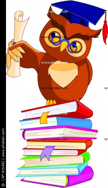 Owl with Graduation Cap