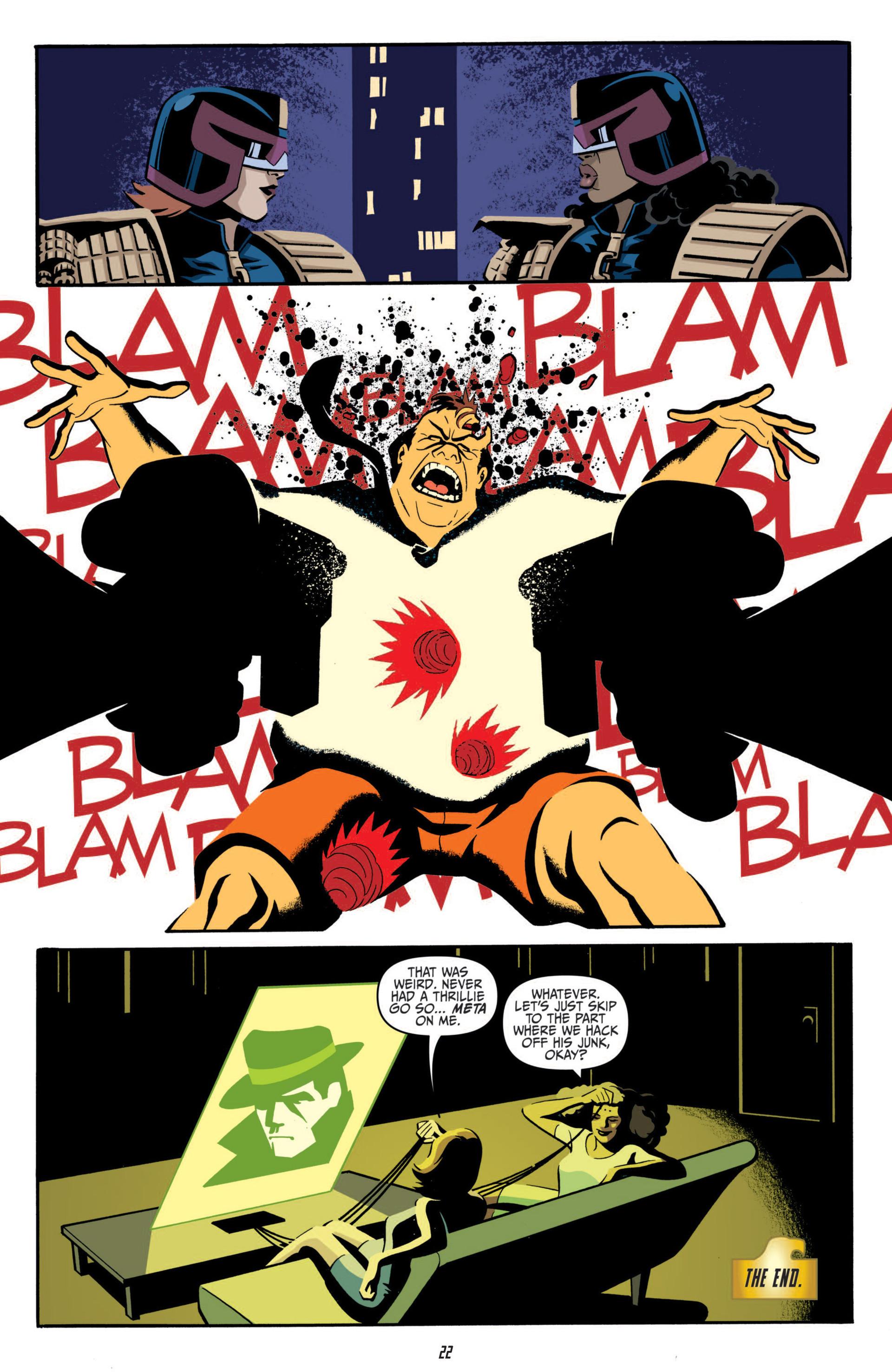 Read online Judge Dredd (2012) comic -  Issue #5 - 24