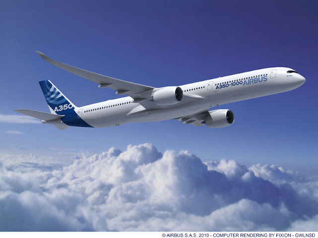 JAL might place an order of 20 Airbus 350-1000's by June 2013