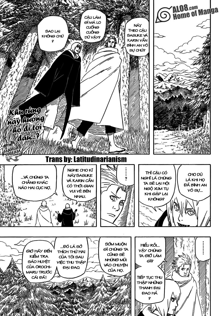 Naruto chap 567 Trang 3 - Mangak.info