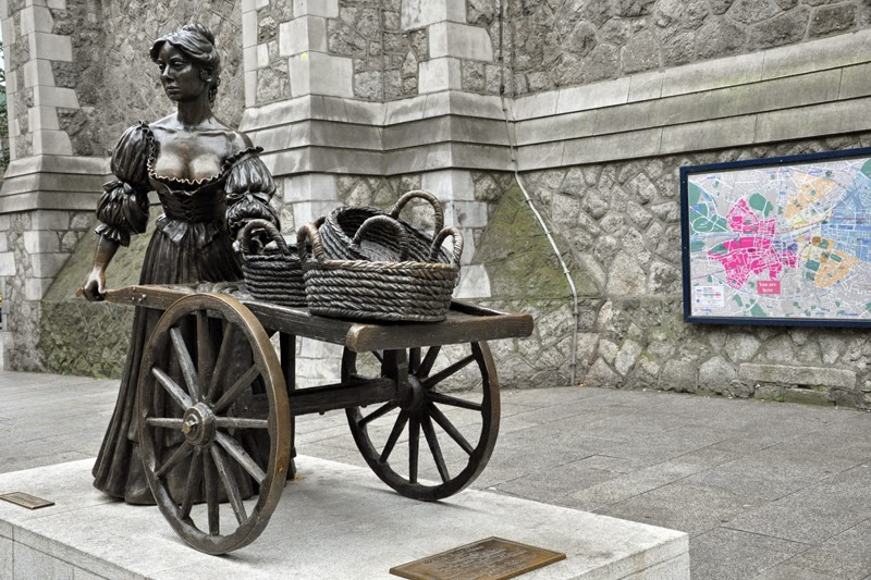 Irland 2014 - Tag 7 | Dublin | Molly Malone