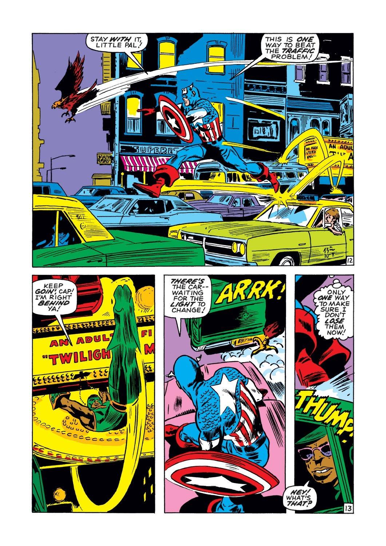 Captain America (1968) Issue #134 #48 - English 13