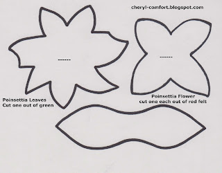 Artsy Fartsy: Candy Cane Poinsettias